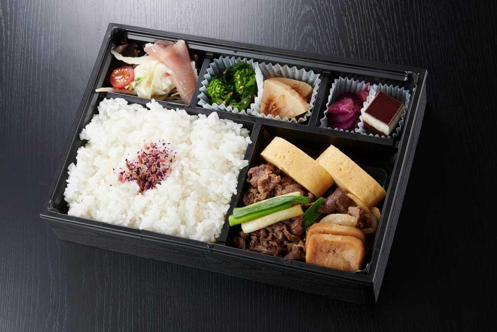 sukiyaki-bentou